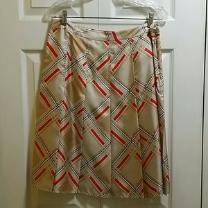 Gap 100% Silk Skirt